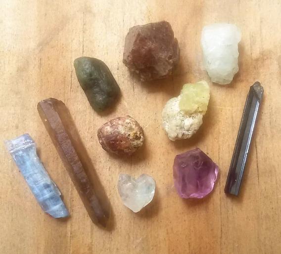 Lote 5.1gr 10 Pedra Natural Sortida De Coleção Selecionada