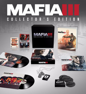 Mafia 3 Iii Collectors Edition Fisico Nuevo Ps4 Dakmor