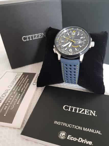Relogio Citizen Blue Angels Promaster Bj7007-02i Nighthawk