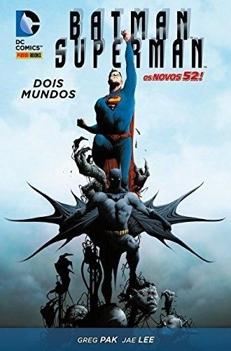 Hq - Batman / Superman - Dois Mundos - Capa Dura