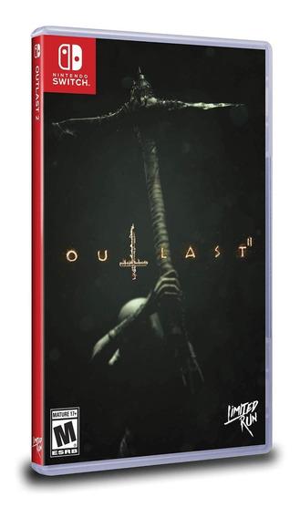 Outlast Ii (2) Switch Mídia Física Novo Lacrado Original