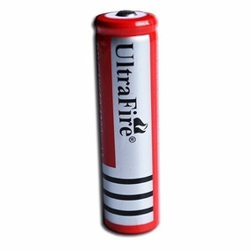 Bateria Recarregável 18650 6800mah 3.7v Lanterna Tática