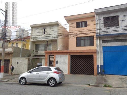 Sobrado Residencial À Venda, Mooca, São Paulo. - So0909
