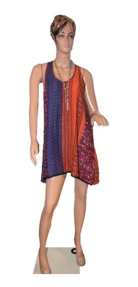 47 Street Vestido De Rayon Estampado En Varios Colores