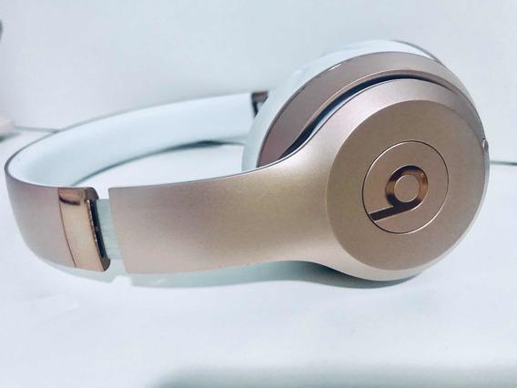 Fone De Ouvido Beats Solo3 Wireless Bluetooth Rose Branco