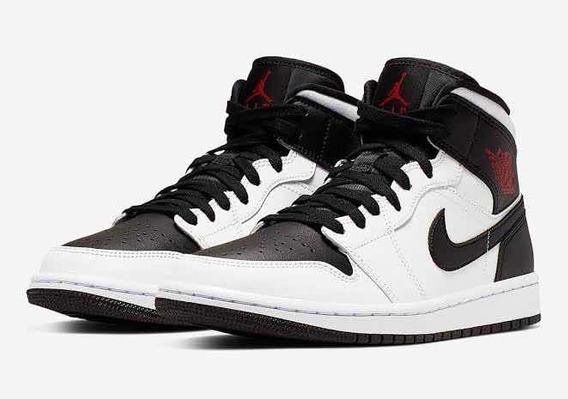 air jordan 1 retro negro blanco