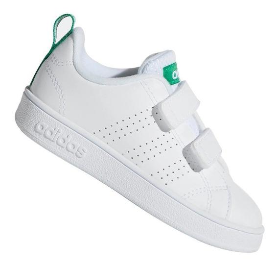 Tênis adidas Infantil Advantage Clean Branco Aw4889 Original