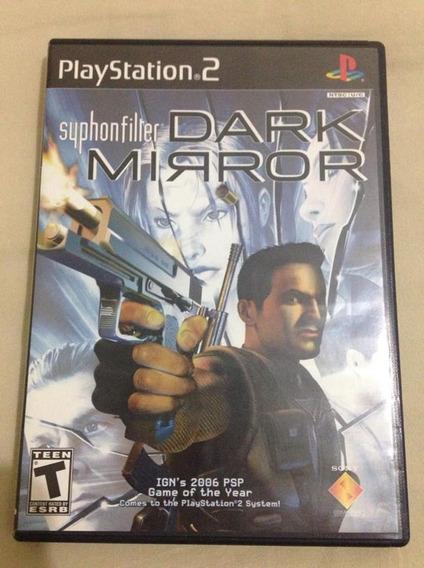 Playstation 2 Syphon Filter Dark Mirror Completo R$82,98