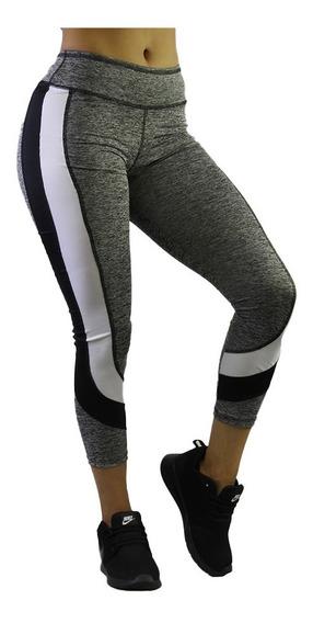 Ropa Deportiva Mujer Leggings Colombianos Licra Mallas 65 /l