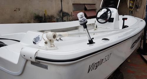 Virgin Marine 520 Pescador + Mercury 60 Bf Todo Equipado