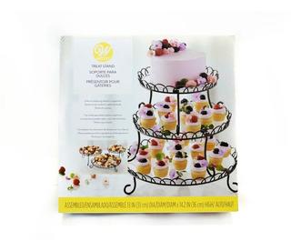 Exhibidor Posa Torta Cupcake Set X 3 Wilton - No Full
