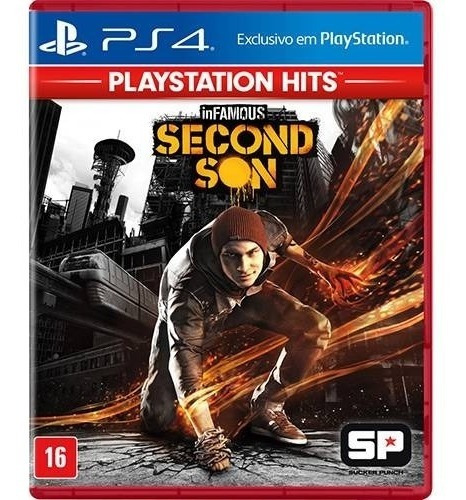 Infamous Second Son - Ps4 - Novo - Mídia Física