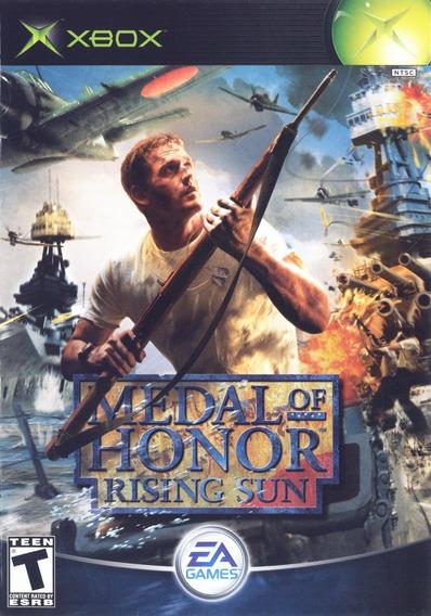 Jogo Medal Of Honor Rising Sun Xbox Clássico Mídia Física