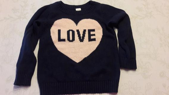 Sweater Niña Carters Talle 3t Casi Sin Uso