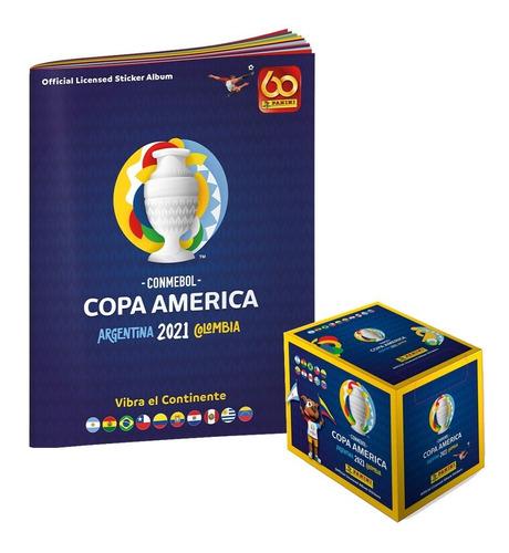 Copa América 2021 - Caja De 50 Sobres + Album De Obsequio
