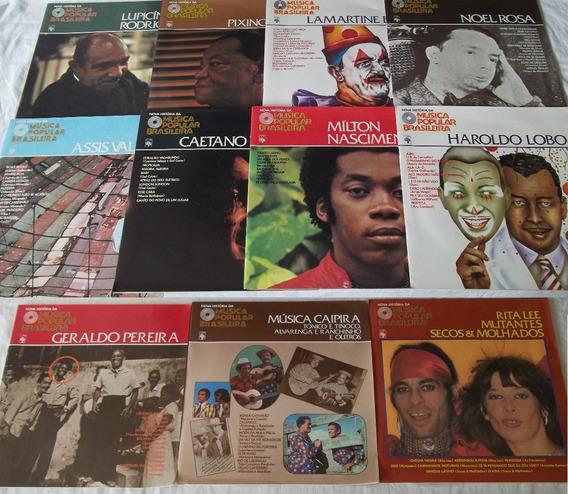 Coleção Nova Historia Mpb Abril Completa 75 Vol Com Raros