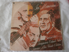 Lp In Memorian 1982 Vicente Celestino, Francisco Alves Vinil