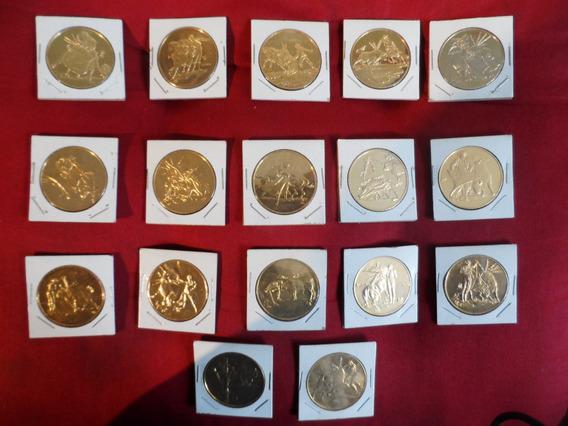 Monedas Taurinas En Oro Colección 19 Medallas Tauromaquia