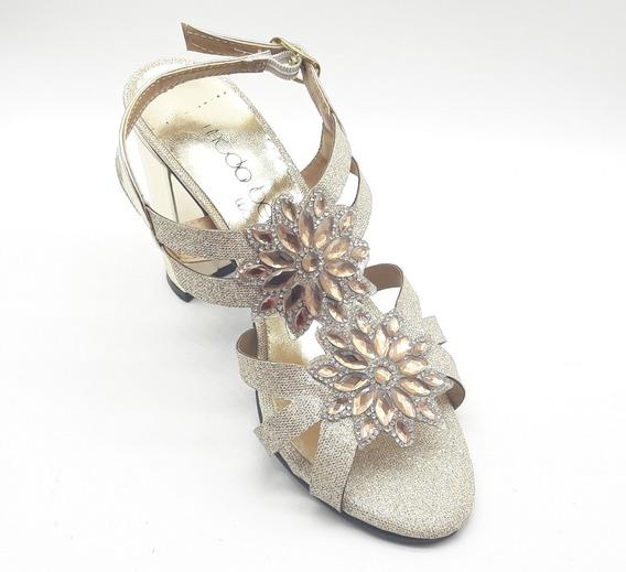 Zapatillas Dama Fiesta Calzado Zapato Casual Chancla Ki2366