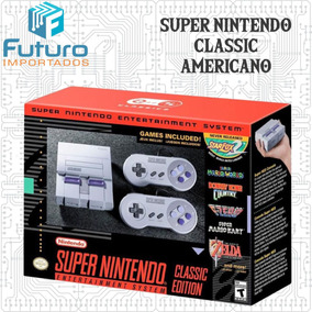 Super Nintendo Classic Mini 21 Jogos - Americano