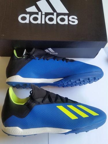 Zapatos adidas Fútbol Microtacos X 18.3 Talla 44(10a)27.5cm