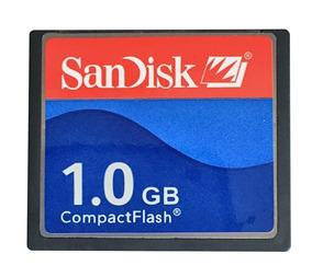 Compact Flash Sandisk 1gb Cf Cartão De Memoria 50 Pinos