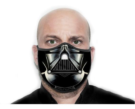 Máscara Personalizada Darth Vader Star War - Ref ( 13 )