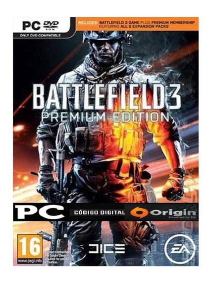 Battlefield 3 Bf3 Premium Pc Origin Key Jogo Envio Imediato