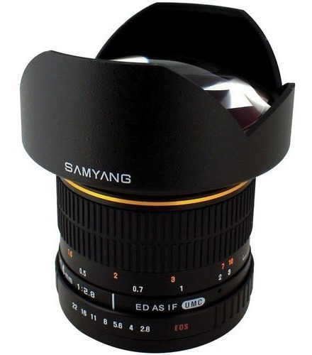 Lente Gran Angular Samyang Sy14m-c 14mm F2.8 Para Nikon Hm4