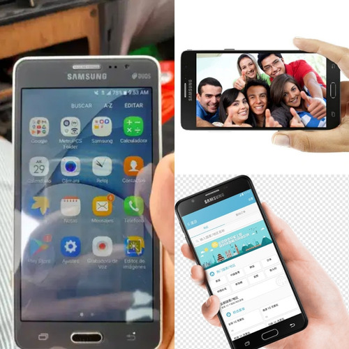 Samsung On5 2016 4g Lte 16gb, 1.5gb Ram, Android 7.1