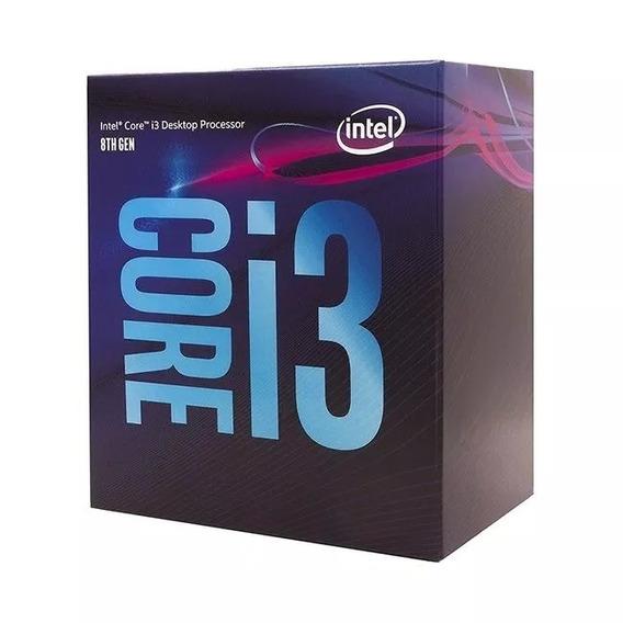 Core I3 8100 Lga 1151 8 Geração Processador Intel I3 Lacrado