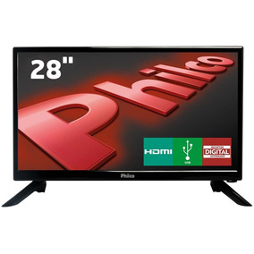 Tv Led 28 Philco Conversor Digital Integrado Hdmi Usb