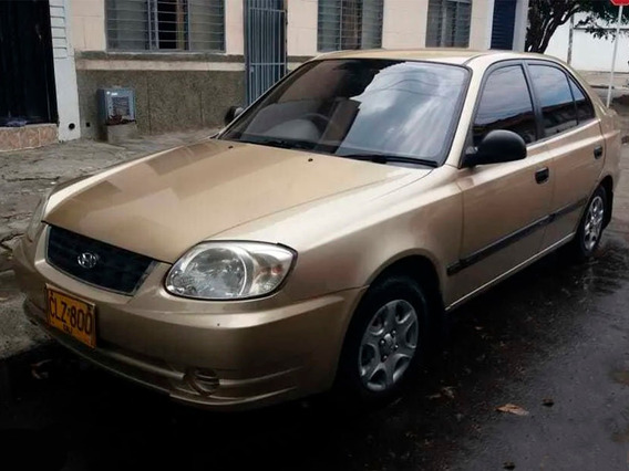 Hyundai Accent 2004, Motor 1,400 $11,800.000 Negociables