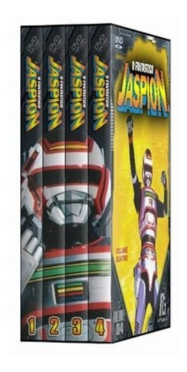 Jaspion - Completo - 10 Dvds *colecionador