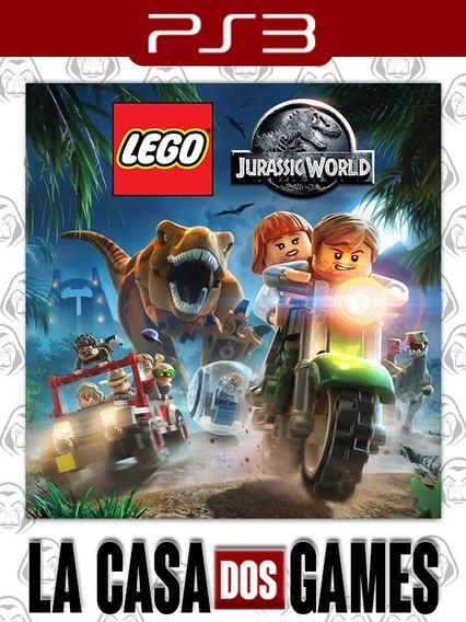 Lego Jurassic World O Mundo Dos Dinossauros - Psn Ps3 Pt-br