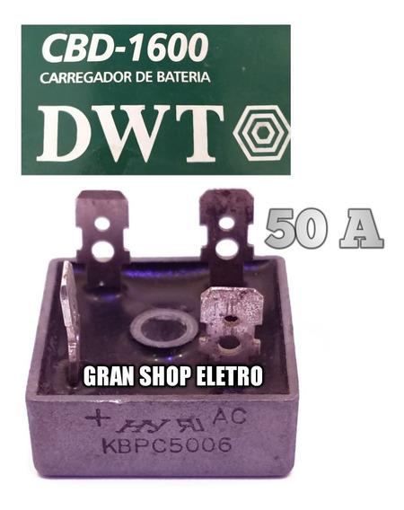 Placa De Diodo P/ Carregador De Bateria Vonder Cbv1500 50 A