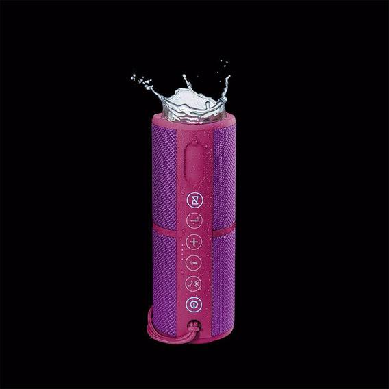 Caixa De Som Waterproof Bluetooth Rosa Pulse Sp254