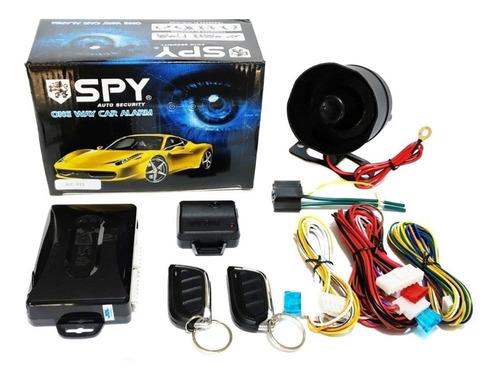 Alarma Spy Carro Con 2 Controles Y Sirena Garantia 1 Año