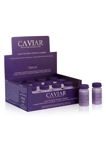 Ampollas Hidronutritivas Sin Enjuague Caviar - Fidelite X 12