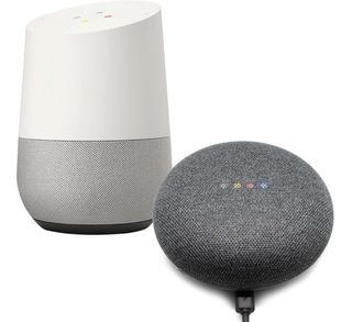 Combo Google Home Vitrine + Google Home Mini Vitrine