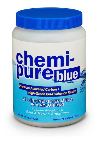 Material Filtrante Acuario Chemipure Blue 312g