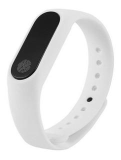 Smartband Aktion M2 Con Monitor Fitness Y De Sueño -blanco