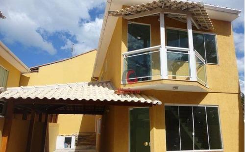 Casa À Venda, 100 M² Por R$ 315.000,00 - Jardim Mariléa - Rio Das Ostras/rj - Ca2030