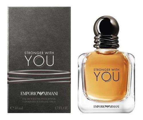 Perfume Hombre Emporio Armani Stronger With You Edt - 100ml