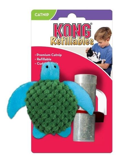 Juguete Kong Refillables Para Mascota Tortuga