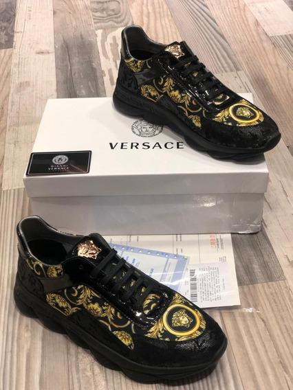 Tenis Versace Importados Para Hombre