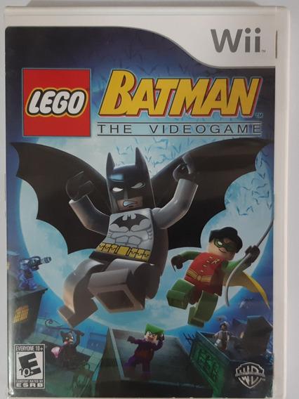Lego Batman The Video Game Wii Mídia Física