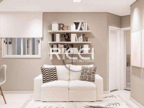 Imagem 1 de 9 de Apartamento À Venda, 43 M² Por R$ 299.000,00 - Campestre - Santo André/sp - Ap10355
