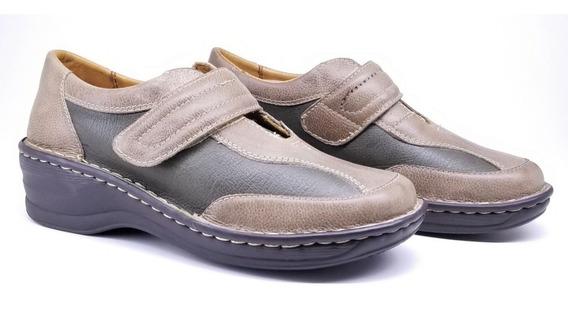 Zapato Mujer Claudia Confort Cuero Suela Goma Tibay Calzados