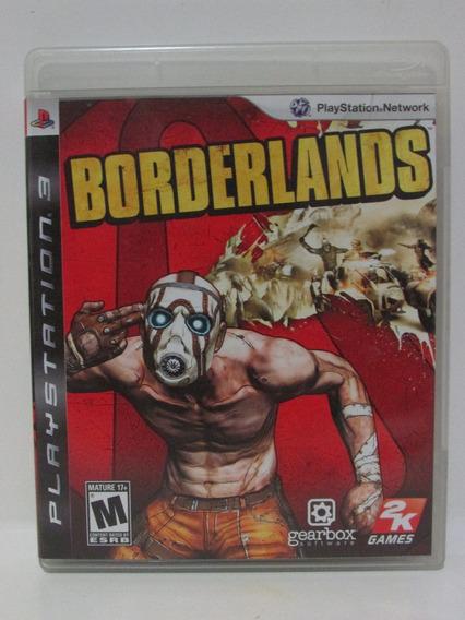 Ps3 - Borderlands Completo Americano Mídia Física